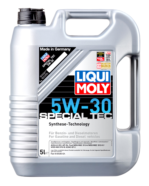 liqui moly motor l special tec 5w 30 5 liter art nr 1164. Black Bedroom Furniture Sets. Home Design Ideas
