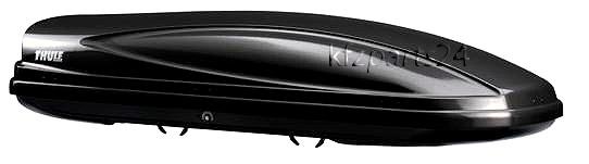 thule atlantis 900 black dachbox 235x90cm 650 liter ebay. Black Bedroom Furniture Sets. Home Design Ideas