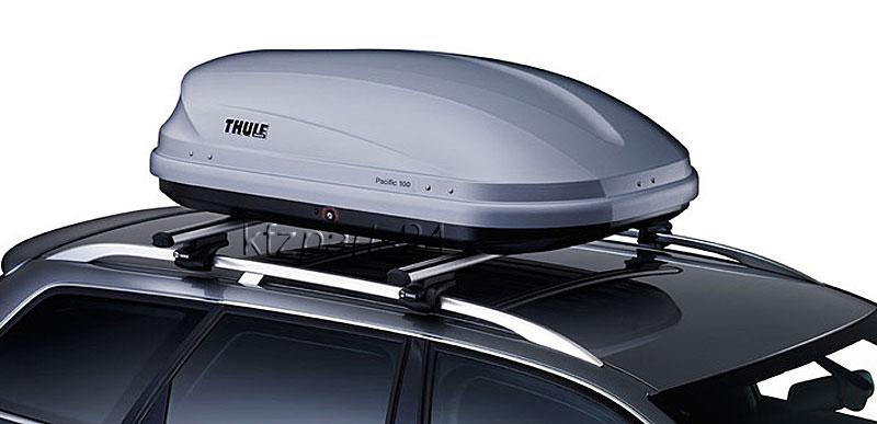 thule pacific 100 ds aeroskin dachbox 139x90cm 330 liter. Black Bedroom Furniture Sets. Home Design Ideas
