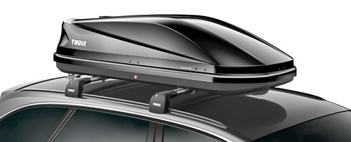 thule dachbox touring m 200 schwarz gl nzend 175x82 cm. Black Bedroom Furniture Sets. Home Design Ideas