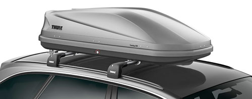 thule dachbox touring sport 600 titan aero 190x63 cm 300. Black Bedroom Furniture Sets. Home Design Ideas