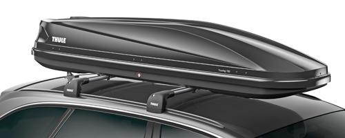 thule dachbox touring 700 schwarz gl nzend 232x70 cm 430. Black Bedroom Furniture Sets. Home Design Ideas