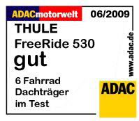 thule freeride 530 fahrradhalter adac testsieger 2009 ebay. Black Bedroom Furniture Sets. Home Design Ideas