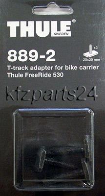 thule 889 2 adapter zu freeride 530 oder 532 aluprofil. Black Bedroom Furniture Sets. Home Design Ideas
