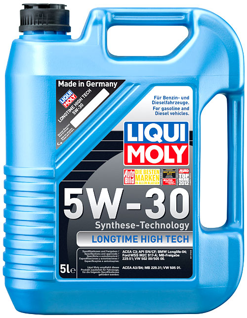 liqui moly motor l longtime high tech 5w 30 5 liter. Black Bedroom Furniture Sets. Home Design Ideas
