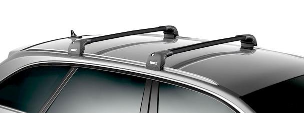 thule wingbar edge black dachtr ger vw passat variant b8. Black Bedroom Furniture Sets. Home Design Ideas