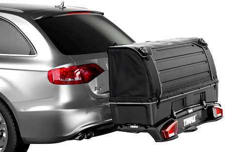 thule backspace 9171 300 liter transportbox f r velospace 917 917100 ebay. Black Bedroom Furniture Sets. Home Design Ideas